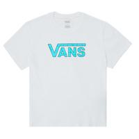 tekstylia Dziewczynka T-shirty z krótkim rękawem Vans ECOLOGY Biały