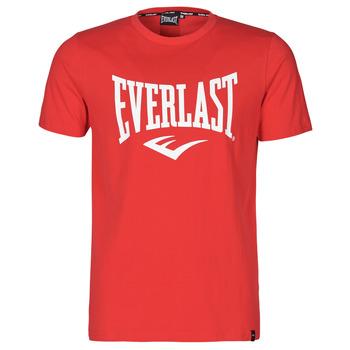 tekstylia Męskie T-shirty z krótkim rękawem Everlast EVL- BASIC TEE-RUSSEL Czerwony