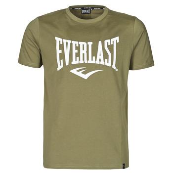 tekstylia Męskie T-shirty z krótkim rękawem Everlast EVL- BASIC TEE-RUSSEL Khaki