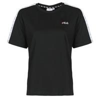 tekstylia Damskie T-shirty z krótkim rękawem Fila JAKENA Czarny