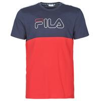tekstylia Męskie T-shirty z krótkim rękawem Fila JOPI Czerwony / Marine