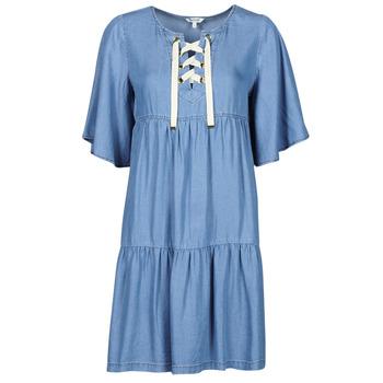 tekstylia Damskie Sukienki krótkie Kaporal TILAN Niebieski