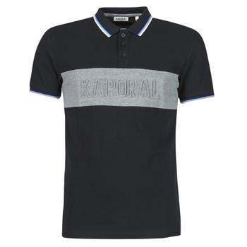 tekstylia Męskie Koszulki polo z krótkim rękawem Kaporal DIAM Czarny