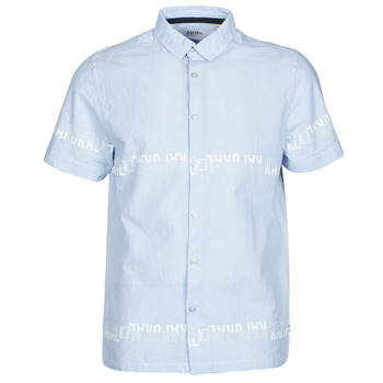 tekstylia Męskie Koszule z krótkim rękawem Kaporal STEVE Niebieski