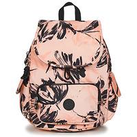 Torby Damskie Plecaki Kipling CITY PACK S Różowy / Czarny