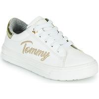 Buty Dziewczynka Trampki niskie Tommy Hilfiger SOFI Biały