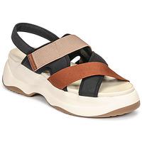 Buty Damskie Sandały Vagabond Shoemakers ESSY Biały / Rouille / Czarny