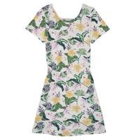 tekstylia Dziewczynka Sukienki krótkie Roxy THE CLOUDS Wielokolorowy