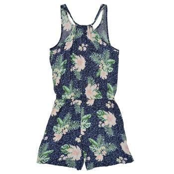 tekstylia Dziewczynka Kombinezony / Ogrodniczki Roxy IN THE MOUNTAIN Wielokolorowy