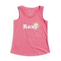 tekstylia Dziewczynka Topy na ramiączkach / T-shirty bez rękawów Roxy THERE IS LIFE FOIL Różowy