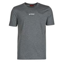 tekstylia Męskie T-shirty z krótkim rękawem HUGO DURNED Szary