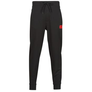 tekstylia Męskie Spodnie dresowe HUGO DOAK Czarny