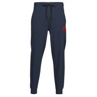 tekstylia Męskie Spodnie dresowe HUGO DOAK Marine