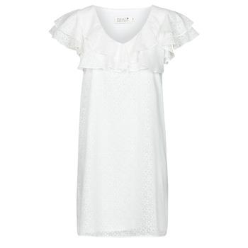 tekstylia Damskie Sukienki krótkie Molly Bracken LA700E21 Biały