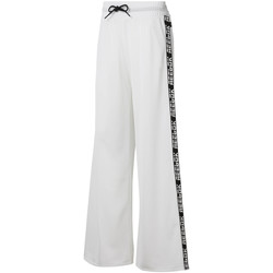 tekstylia Damskie Spodnie dresowe Reebok Sport DU4853 Biały