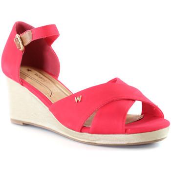 Buty Damskie Sandały Wrangler WL01520A Różowy