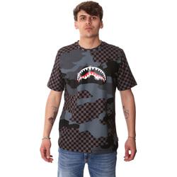 tekstylia Męskie T-shirty z krótkim rękawem Sprayground SP01820BLA Czarny