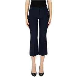 tekstylia Damskie Krótkie spodnie Try Me PANTALONE 10-blu