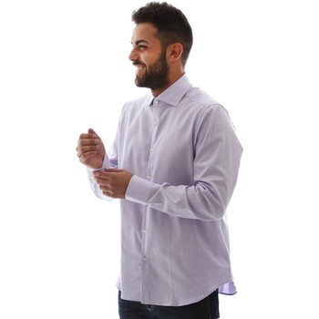 tekstylia Męskie Koszule z długim rękawem Gmf GMF5 4728 961105/04 Różowy