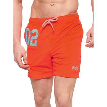 tekstylia Męskie Kostiumy / Szorty kąpielowe Superdry M30018AT Pomarańczowy