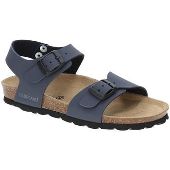 Buty Chłopiec Sandały Grunland SB0901 Niebieski