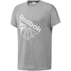 tekstylia Męskie T-shirty z krótkim rękawem Reebok Sport DT8213 Szary