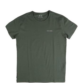 tekstylia Męskie T-shirty z krótkim rękawem Key Up 2G69S 0001 Zielony