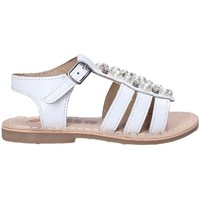 Buty Dziewczynka Sandały Asso 65954 Biały