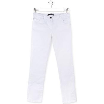 tekstylia Dziecko Spodnie z pięcioma kieszeniami Losan 714 9650AB Biały