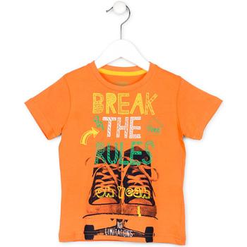 tekstylia Dziecko T-shirty z krótkim rękawem Losan 715 1214AC Pomarańczowy