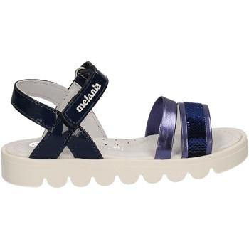 Buty Dziewczynka Sandały Melania ME4067D7E.A Niebieski