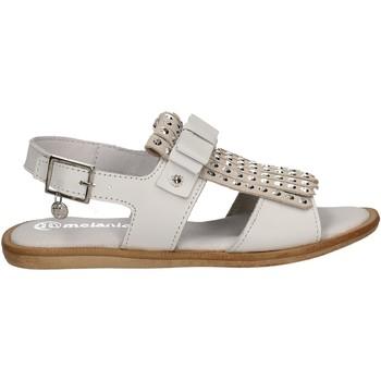 Buty Dziewczynka Sandały Melania ME6026F7E.B Biały