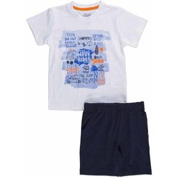 tekstylia Dziecko Komplet Losan 815-8045AC Biały