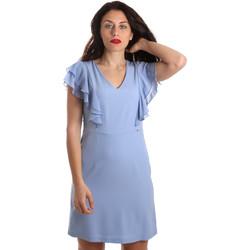 tekstylia Damskie Sukienki krótkie Gaudi 911FD15050 Niebieski