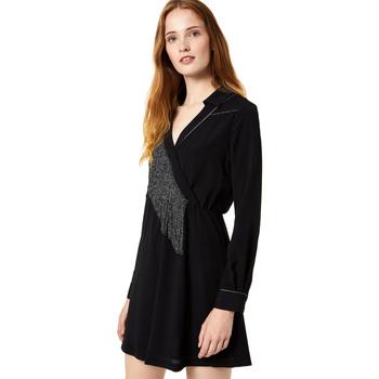 tekstylia Damskie Sukienki krótkie Liu Jo F69292 T9121 Czarny