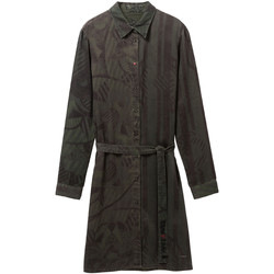 tekstylia Damskie Sukienki krótkie Desigual 19WWVW69 Zielony