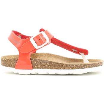Buty Dziewczynka Sandały Grunland SB0031 Pomarańczowy