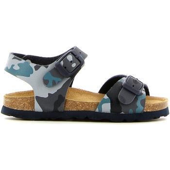 Buty Dziewczynka Sandały Grunland SB0169 Niebieski