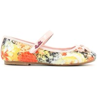 Buty Dziewczynka Baleriny Lulu LB110002T Pomarańczowy