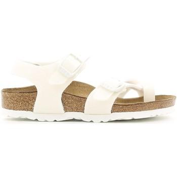 Buty Dziewczynka Sandały Birkenstock 371593 Biały