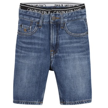 tekstylia Chłopiec Szorty i Bermudy Calvin Klein Jeans AUTHENTIC LIGHT WEIGHT Niebieski