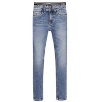 tekstylia Chłopiec Jeansy skinny Calvin Klein Jeans SKINNY VINTAGE LIGHT BLUE Niebieski
