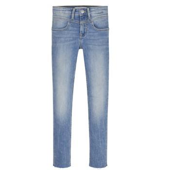 tekstylia Dziewczynka Jeansy skinny Calvin Klein Jeans IG0IG00971-1AA Niebieski