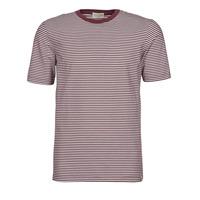 tekstylia Męskie T-shirty z krótkim rękawem Scotch & Soda 160847 Czerwony / Biały