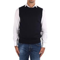 tekstylia Męskie Swetry rozpinane / Kardigany La Fileria 14290 55168 Niebieski