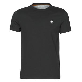tekstylia Męskie T-shirty z krótkim rękawem Timberland SS DUNSTAN RIVER POCKET TEE SLIM Czarny