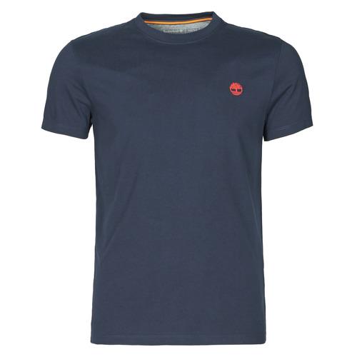 tekstylia Męskie T-shirty z krótkim rękawem Timberland SS DUNSTAN RIVER POCKET TEE SLIM Marine