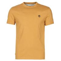 tekstylia Męskie T-shirty z krótkim rękawem Timberland SS DUNSTAN RIVER POCKET TEE SLIM Beżowy