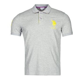 tekstylia Męskie Koszulki polo z krótkim rękawem U.S Polo Assn. NEW HORSE POLO Szary