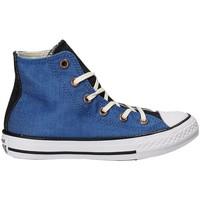 Buty Dziecko Trampki wysokie Converse 659965C Niebieski